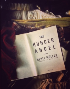 The Hunger Angel cover, Portobello Books, 2012. Shot by Bernardo on his iPhone using the Snapseed app.